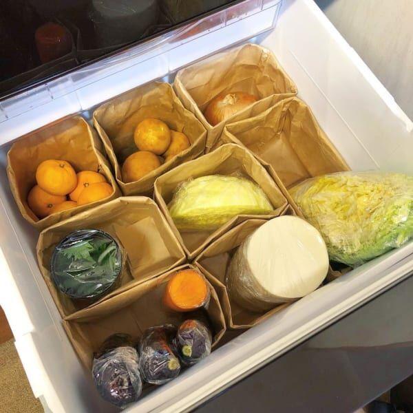 【野菜室】ペーパーバッグ