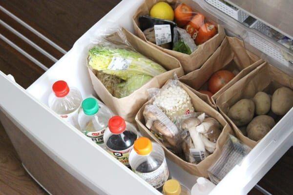【野菜室】ペーパーバッグセリア