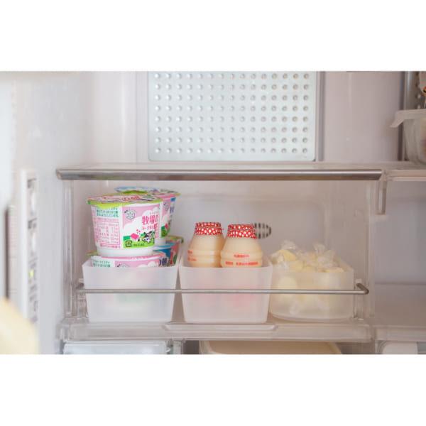 【冷蔵室】見せる収納ボックス2