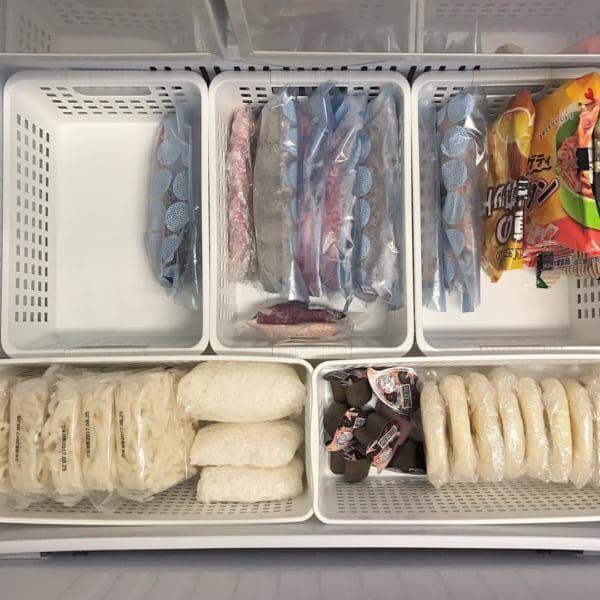 【冷凍室】ボックス収納
