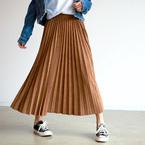 ふんわりシルエットが春っぽい♪「プリーツスカート」のおすすめコーデをご紹介!