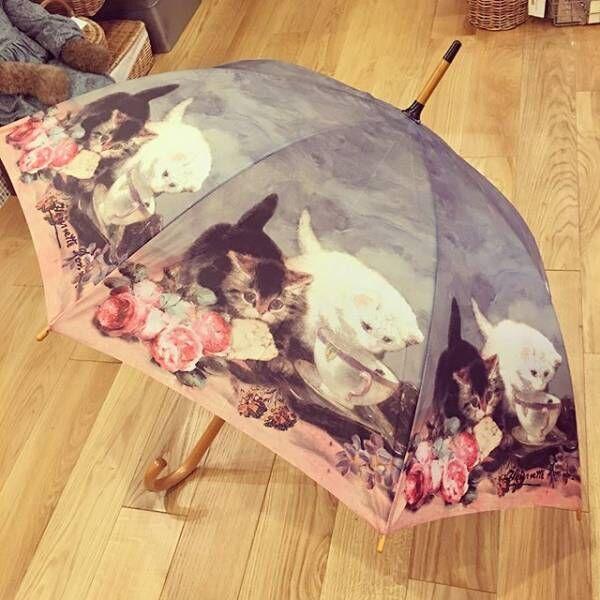 アート傘猫