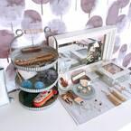 美しいアクセサリーを美しく保管☆すっきりと使いやすいアクセサリー収納