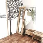 壁をアートコーナーに☆ウォールステッカーやマステで楽しむインテリア