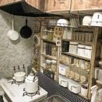 《セリア・ダイソーetc.》超オシャレ!100均リメイクでつくるカフェ風キッチン