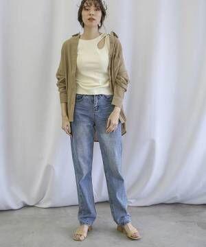 [select MOCA] コットンルーズL/Sシャツ(ビッグシルエットガーゼシャツ)