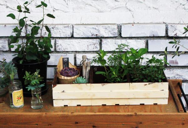 ガーデンボックス DIY