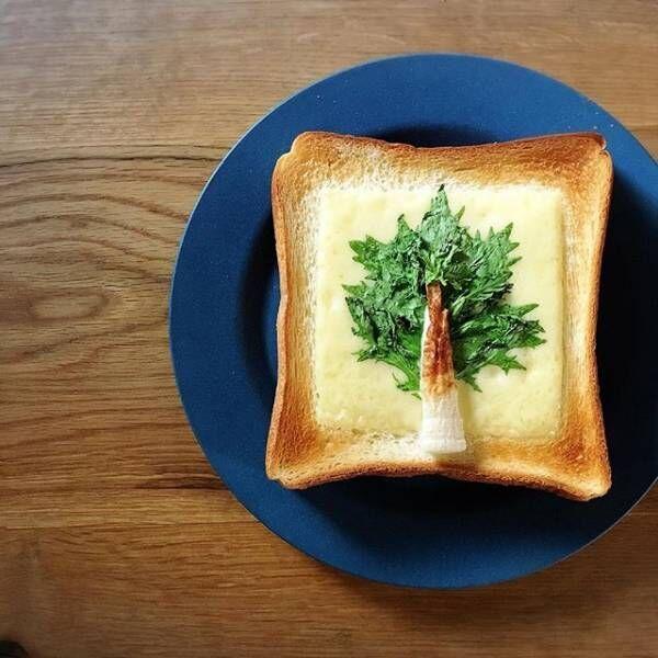 朝ごはんに食パン3
