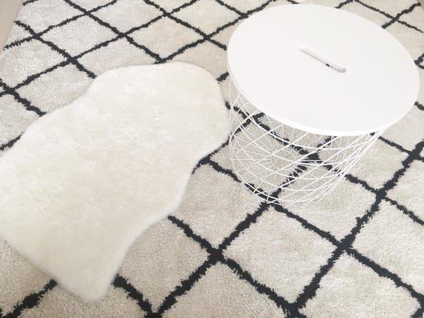 IKEAの収納サイドテーブル