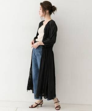 [URBAN RESEARCH ROSSO WOMEN] F by ROSSOカットレースワンピース