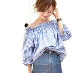 春夏コーデには《シャツ&ブラウス》♡おすすめアイテム15選をご紹介!