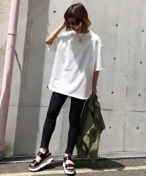 [PAGEBOY] 【WEB限定】BIGシルエットTシャツ
