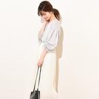 「白スカート」で大人の爽やかスタイルが完成♪アイテム別コーディネート集