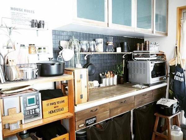 炊飯器収納3