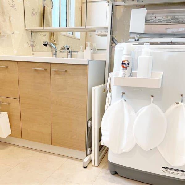洗濯機周りをデッドスペースにしない!みんなのアイデア収納大特集