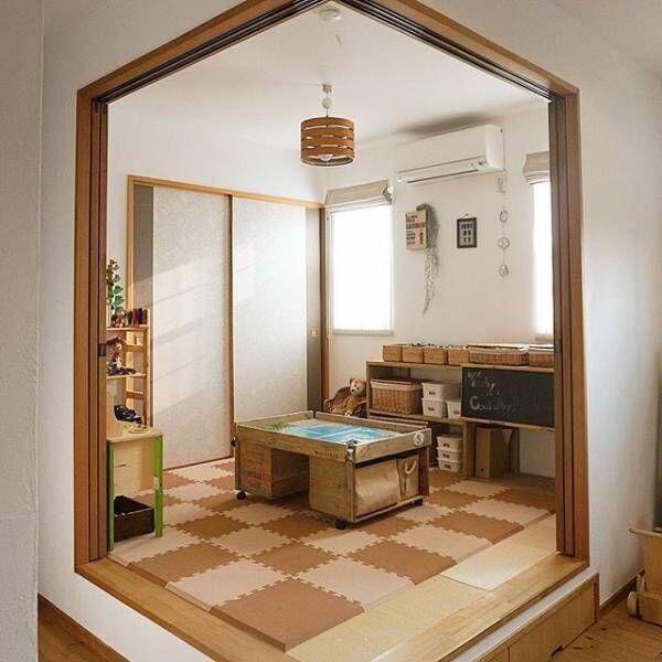 和室を子供部屋にアレンジ!おしゃれで自慢したくなる子供部屋を作ろう