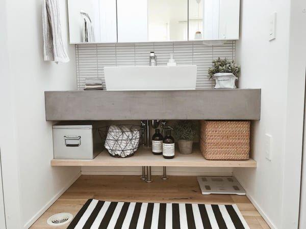おしゃれさんの【洗面所インテリア】を大調査!素敵な空間づくりや収納を紹介