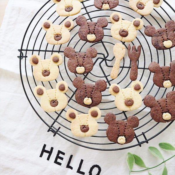 くまのがっこうクッキー