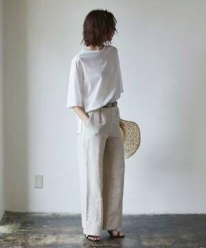[GALLARDAGALANTE] ライトクールオーバーTシャツ