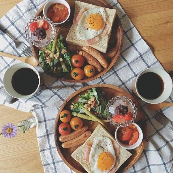 ワンプレート 朝ごはん