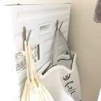 【無印良品・IKEA・キャンドゥetc.】のフックを活用!場所をとらない収納術♪