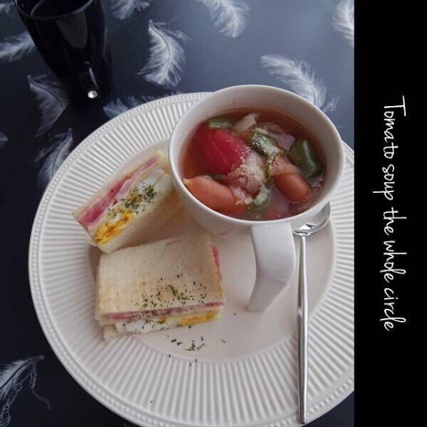 サンドイッチの盛り付け方アイデア2