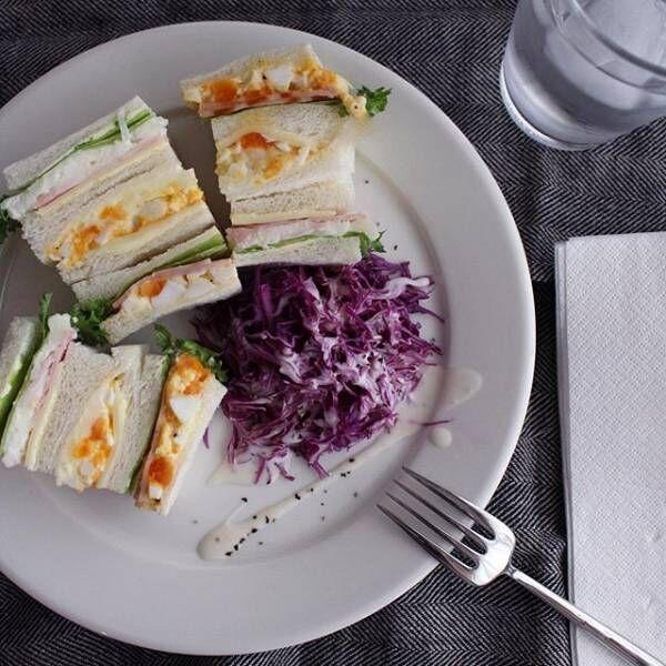 サンドイッチの盛り付け方アイデア