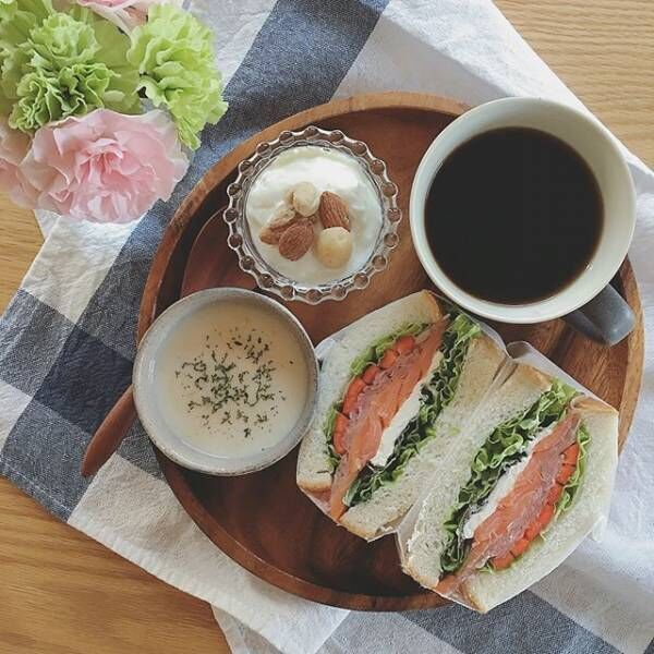 サンドイッチの盛り付け方アイデア7