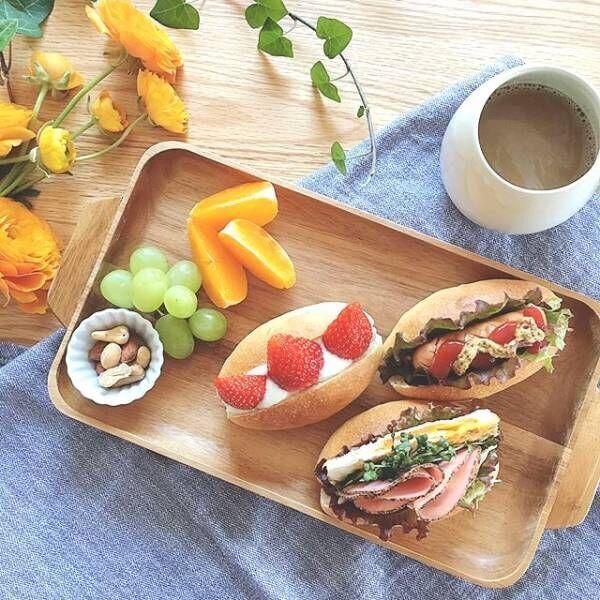 おうちでカフェ気分!《サンドイッチ》おしゃれな盛り付け方アイデア集