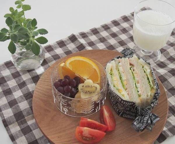 サンドイッチの盛り付け方アイデア5
