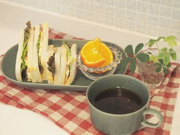 サンドイッチの盛り付け方アイデア9