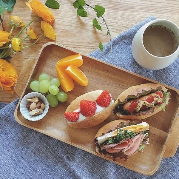 サンドイッチの盛り付け方アイデア8