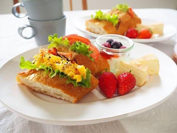 サンドイッチの盛り付け方アイデア3