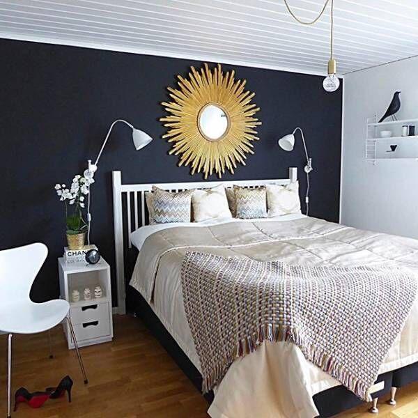 寝室実例ミラー