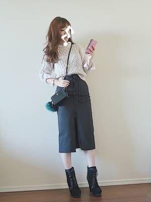 休日にもぴったり大人女子のカジカワコーデ♡2