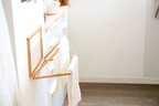【連載】布巾を乾かす暮らしの道具。「折りたたみ布巾かけ」を400円でDIY☆
