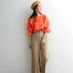 この春夏のコーデに取り入れたい!フレッシュなオレンジカラーアイテム集
