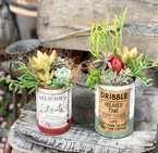 【連載】【セリア】でお洒落なリメ缶を作ろう!母の日に手作りの多肉寄せ植えを♪