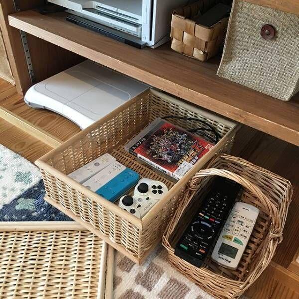 テレビボード・リビングクローゼットの収納アイデア6