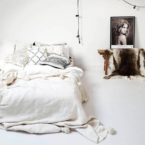 ベッドカバー 模様替え2