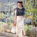 夏に向けて軽やかさを取り入れよう♪ホワイトスカートで作る爽やかデートコーデまとめ