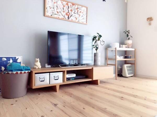 ライフスタイルに合わせて取り入れよう♪デザイン豊富なテレビボードのインテリア集