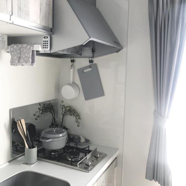 一人暮らしのキッチン&収納