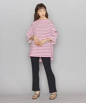 [BEAUTY&YOUTH UNITED ARROWS] <Americana(アメリカーナ)>ボーダーワイドTシャツ