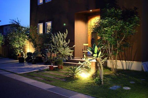 お庭で素敵な時間を…晩酌・ディナーを楽しめるお庭