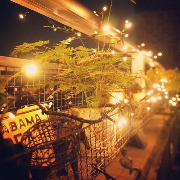 夜のお庭・ベランダを楽しむためにはライトアップが必須2