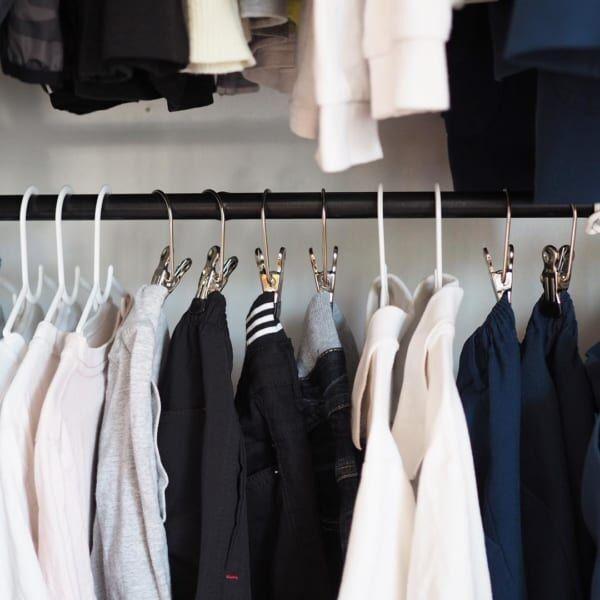 暮らしのアイデア 衣類収納