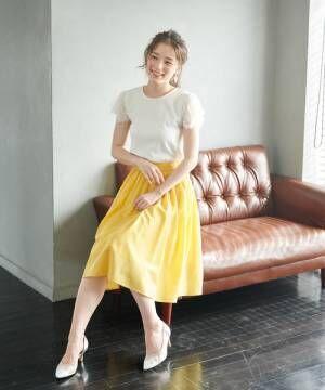 [ROPE' PICNIC] 【着丈が選べる】タックベルトサップギャザースカート