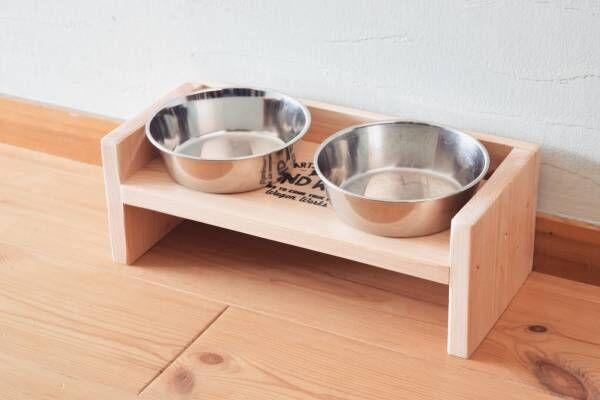 【連載】『セリア』の木材でDIY!シンプルで可愛いペットのごはん台の作り方