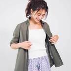 涼しさは夏素材でナンバーワン♡「リネン素材トップス」の着こなし術